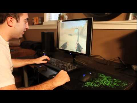 Razer Deathadder Gaming Mouse Hardware Pro Review by: caseyfoster