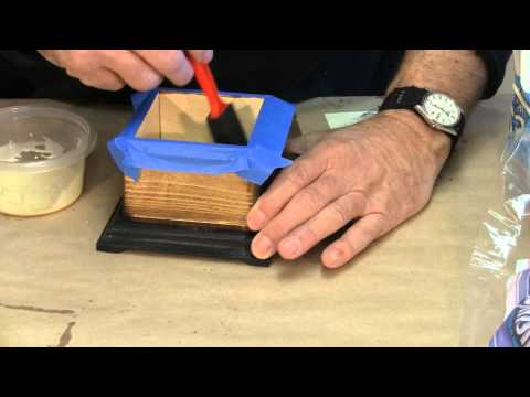 Flocking The One Piece Boxes - A Woodworkweb Woodworking Video video