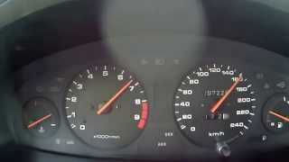 Civic 1.8 vti acceleration 0-180