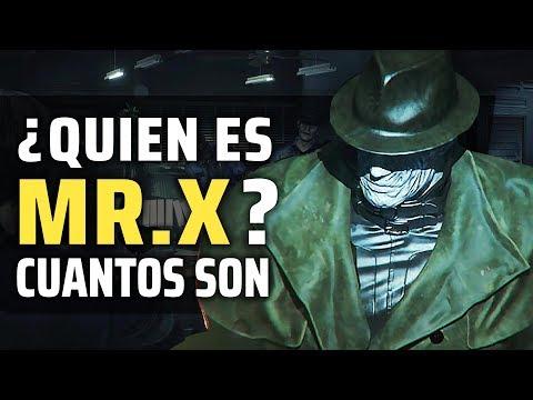 RESIDENT EVIL 2 REMAKE | La Historia De MR. X (TYRANT T.103) ¿CUANTOS HAY? Quien Es Y Como Escapar