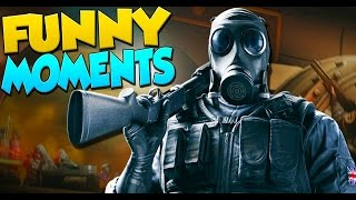 Rainbow Six Siege Funny Moments - Bad Players, Team Killing, Throwing Hostages!