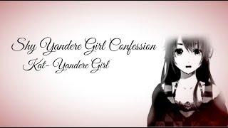 ASMR | Shy Yandere Girl Confession | Roleplay