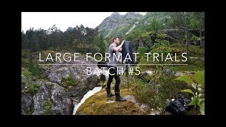 Large Format Trials - Landscape Photography - Batch #5 - Rushing Water