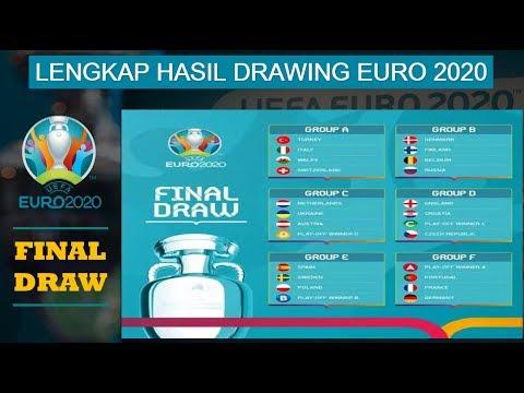 Hasil Drawing EURO 2020, PORTUGAL, PRANCIS & JERMAN Berada Dalam GRUP F ~ FINAL DRAW EURO 2020