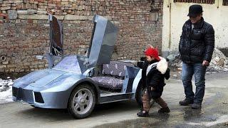 Farmer Builds DIY Lamborghini for Grandson - Best Grandpa Ever!