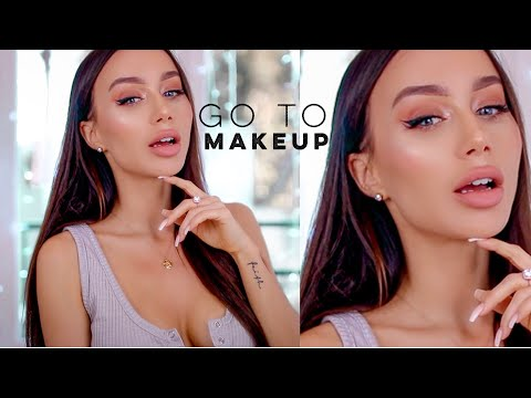GRWM - GO TO MAKEUP ROUTINE 💕HAIR & MAKEUP