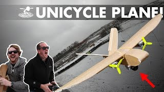 Unicycle Landing Gear Plane!
