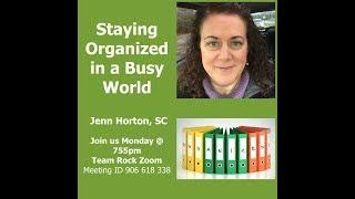 Team Rock Jenn Horton Organization 030518