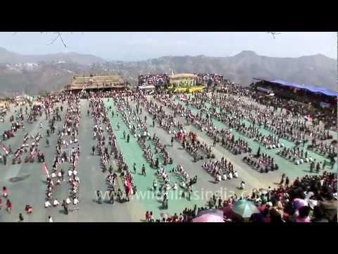 Pride of India: Bamboo dance from Mizoram state