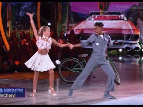 Mandla Morris & Brightyn Brems - Dancing With The Stars Juniors (DWTS Juniors) Episode 2