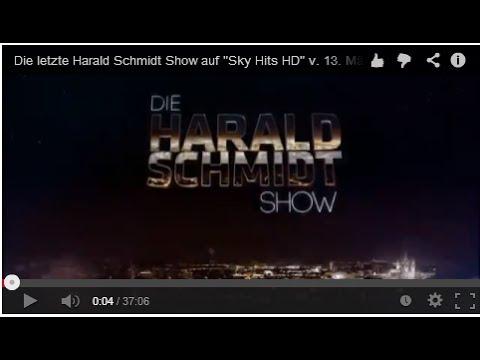 Die letzte Harald Schmidt Show auf