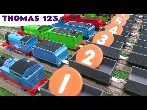 Learn To Count With Sesame Street Cookie Monster 123 Thomas The Tank Song Toy Story Monsters Inc