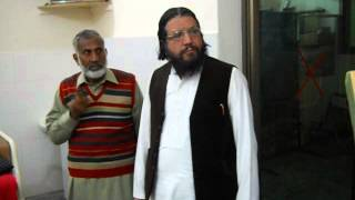Famous Poet Syed Sulman Gilani visiting Musawar Welfare General Hospital Gojra