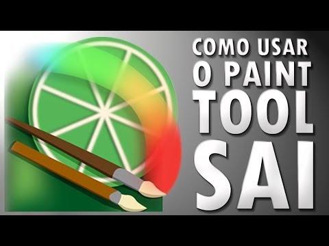 Tutorial COMO USAR O PAINT TOOL SAI BR