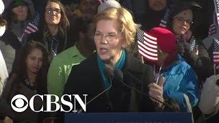 Elizabeth Warren launches 2020 bid