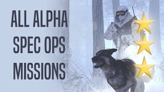 Special Ops - Alpha Missions SOLO  - 3 Stars - MW2