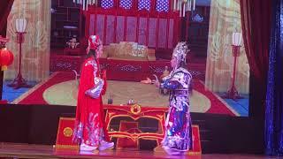 1 cảnh vui nhộn trong tuồng Mai Trắng Se Duyên vừa công diễn 10/3/2019