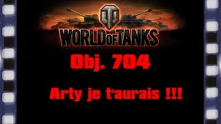World of Tanks - Obj. 704 - Arty je t