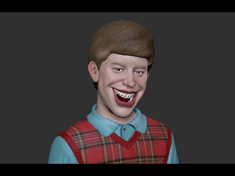 Bad Luck Brian - Speed Sculpt