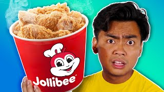 I Ordered Everything From The JOLLIBEE Menu..