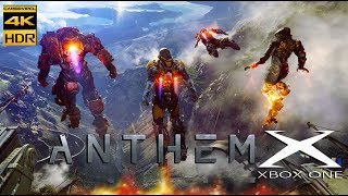 ANTHEM 4K 60FPS HDR+ FILTER GAMEPLAY XBOX ONE X (E3 2017)