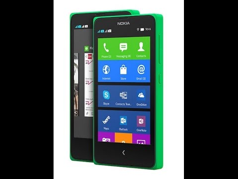 Nokia X Dengan Akses Aplikasi Android, Layar 4,3 video