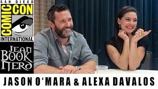 Jason O'Mara & Alexa Davalos - The Man in the High Castle - San Diego Comic Con 2018 - JeanBookNerd