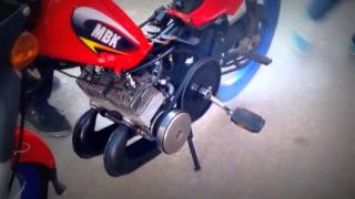 MBK Galaxy 2 Moteurs Polini Mad In Morocco | Zozi Motor