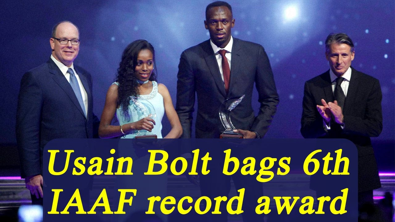 Usain Bolt bags IAAF athlete of the year for record 6th time | Oneindia News
