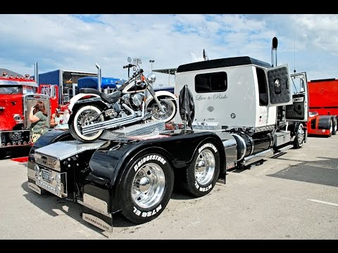 Custom Big Rigs, Trucks, Custom Bikes & Beautiful Babes