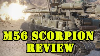 M56 Scorpion Review (Tier VII USA Premium TD) World of Tanks Xbox Xbox1/PS4