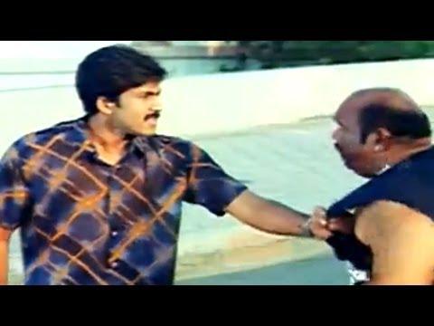 Vadde Naveen Giving Warning To Villain Action Scene || Chakri Movie
