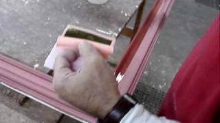 Water Gilding C&J Frame # A047 Part 1