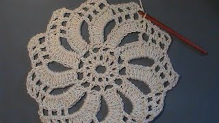 "Crocheting an ""Edwardian Spiral"""