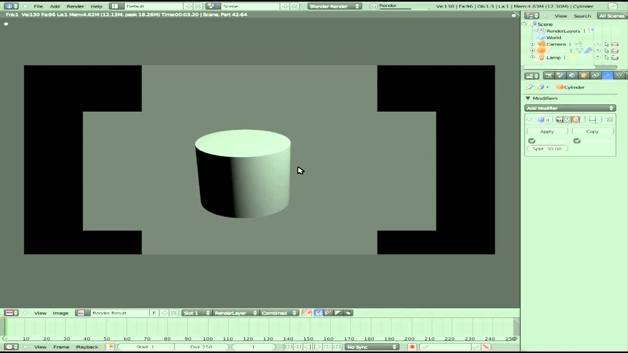 blender how to make smooth edges