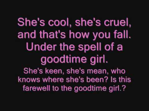 GoodTime Girl - Scouting for Girls