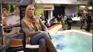 Sharron Davies endorses Hydropool SwimSpas
