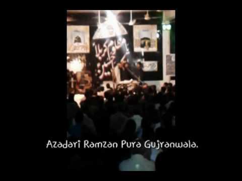Zakir Yasir Raza Jhandvi 7 Muharram Ramzan Pura Gujranwala 2016-17