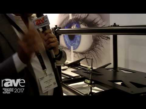 ISE 2017: Euromet Talk About Kalibro XXL Projector Mounting Solution