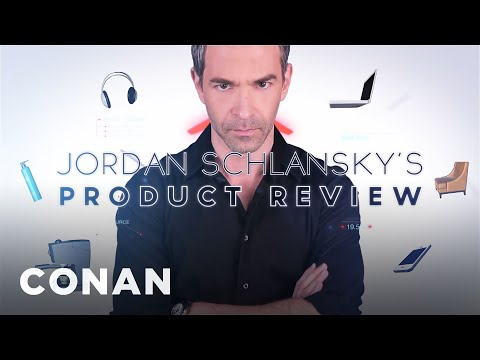 Jordan Schlansky's Product Review: Preparation H Wipes  - CONAN on TBS