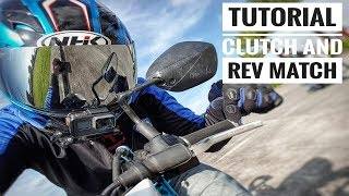 Pinoy Tutorial: How to ride motorcycle with Clutch and Rev Match