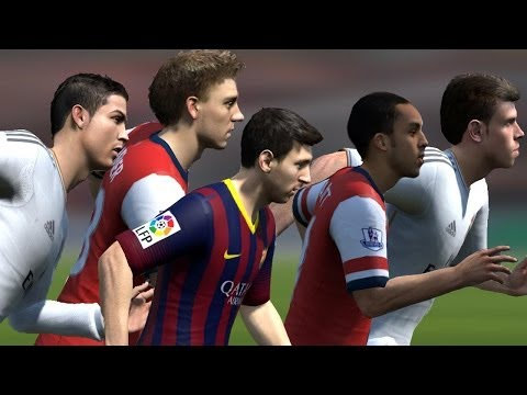 FIFA 14 Speed test | Fastest players in FIFA
