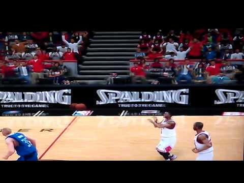 Dirk Nowitzki Nba 2k11 Shot Point Shot Dirk Nowitzki