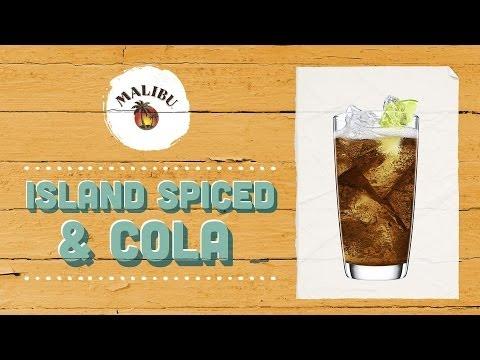 How to Mix a MALIBU Island Spiced & Cola