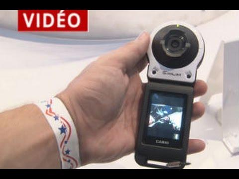 CES 2015 : l'appareil photo détachable et sans fil de Casio