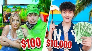 $10,000 HOLIDAY vs $100 HOLIDAY - FaZe Vs FaZe