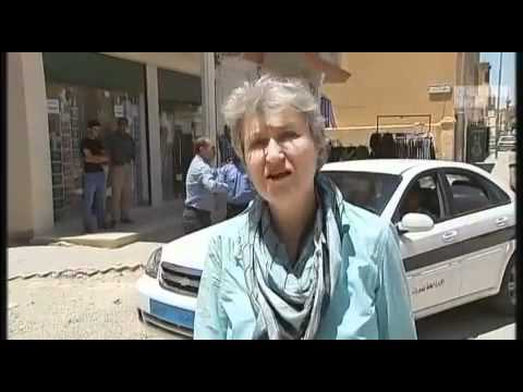 Channel4 news reporting from #Gharyan 80km South of #Tripoli