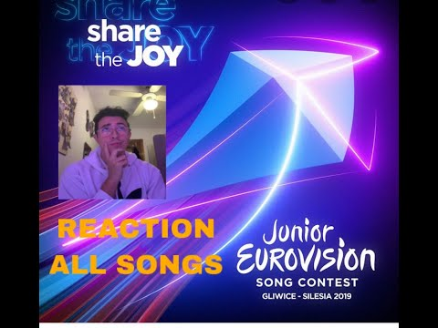 RECAP-REACTION: ALL SONGS JUNIOR EUROVISION 2019 .