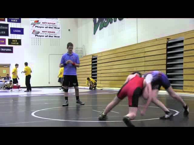 CUSAW 2012 Qualifier (Thunder Ridge) Cruz Ortega vs Max Salazar.wmv