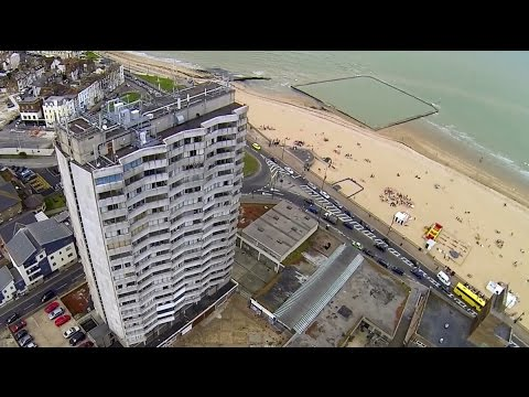 Margate's Dreamland, Scenic Railway, Arlington House and Pigeons